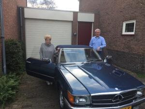 Jos Stelder en zijn vrouw Rietje